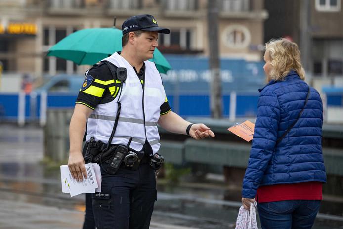 Een actievoerende agent.