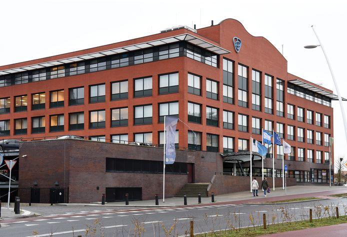 Het Waterschapsgebouw  in Terneuzen met daarin de kantoren van Sabewa.