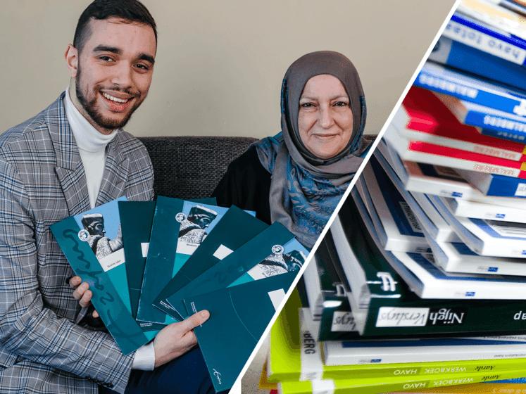 Ibrahim heeft drie bachelor- en drie masterdiploma's: 'Ik wil jongeren inspireren'