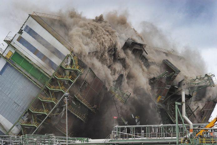 In februari werd het laatste deel van Thermphos opgeblazen