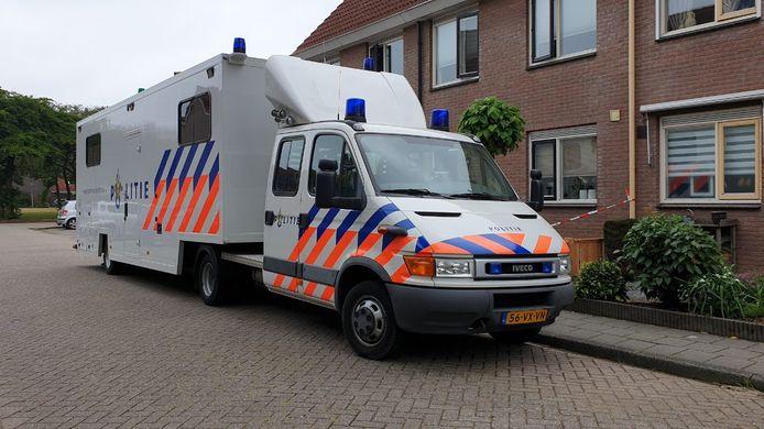 Maandagochtend werd er een PD-unit geplaatst bij de woning aan de Blankenborghoek.