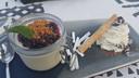 Nagerecht Hasta la Pasta: panna cotta