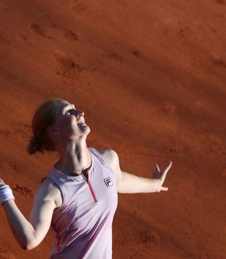 Alison Van Uytvanck éliminée au premier tour