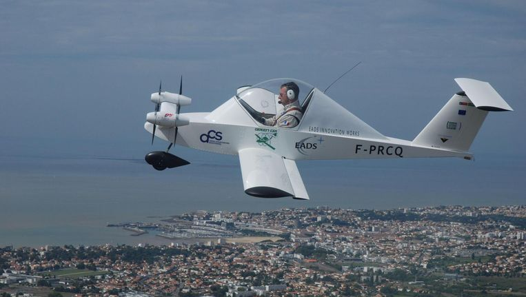 Elektrisch het Kanaal over lukte Airbus als eerste, zonder passagiers. Beeld Airbus