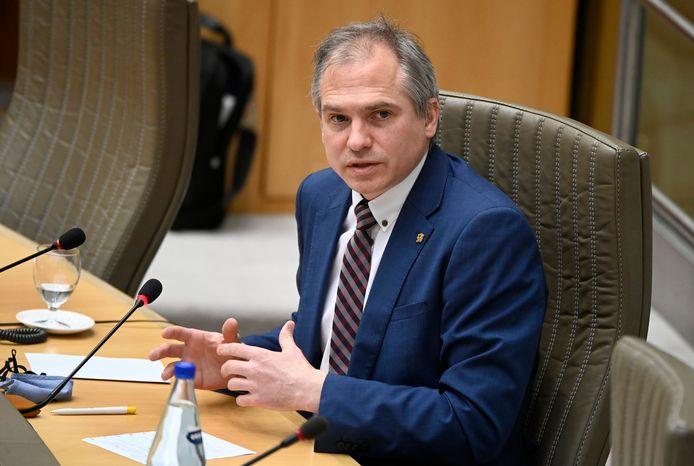 Matthias Diependaele, Vlaams minister van Financiën en Begroting