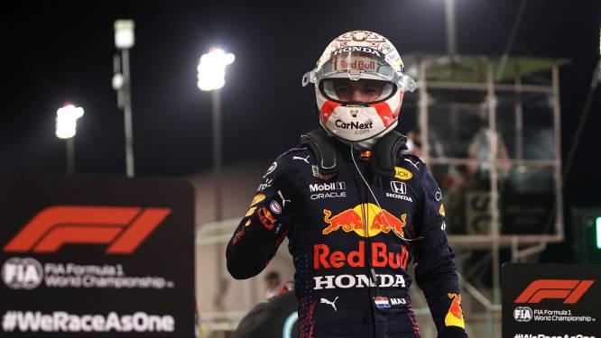 """Superieure Verstappen deelt tik uit aan Mercedes en pakt eerste pole van seizoen: """"Wagen was heerlijk om te besturen"""""""
