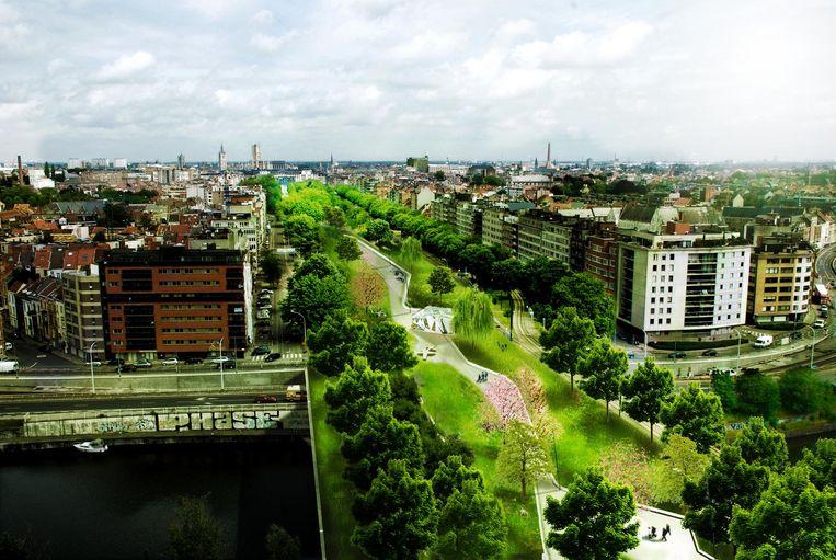 Mathias De Clercq droomde in 2011 van een Central Park op de fly-over.