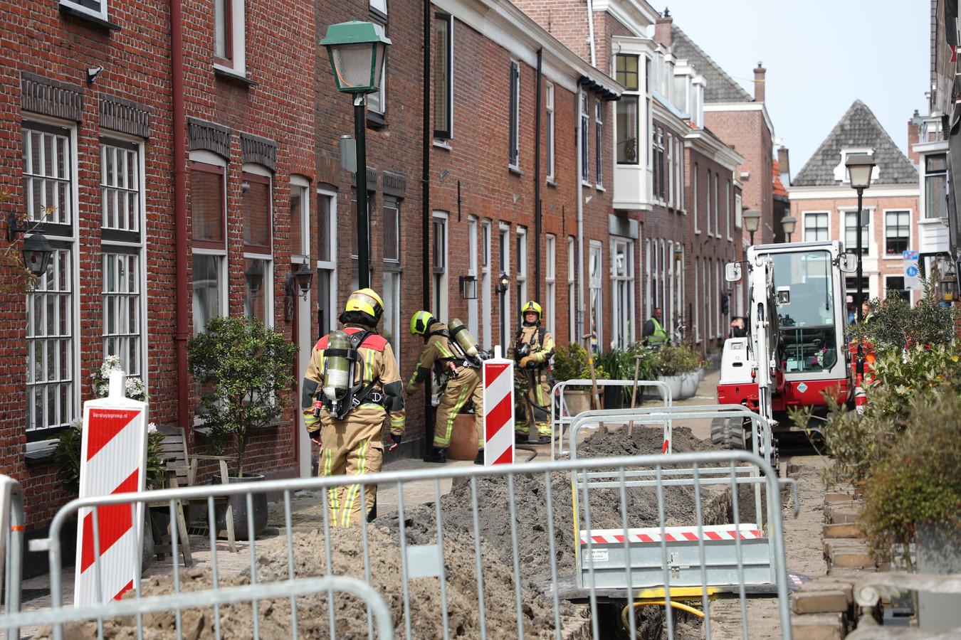 Vanwege het gaslek zijn er zeven woningen ontruimd.