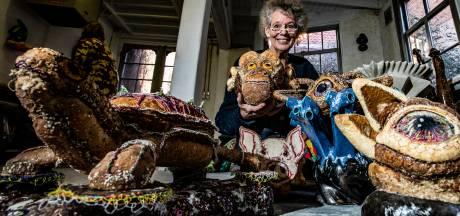 Margreet uit Deventer maakt kunstdieren van brood en dat is geen broodje aap (of toch wel?)