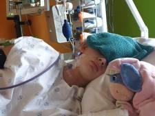 """Louise a quitté les soins intensifs: """"Un enfant de 11 ans qui a peur de mourir, ça ne devrait pas arriver"""""""