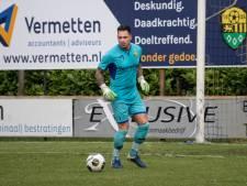 Halsteren-goalie Pietersma steeds dichter bij record