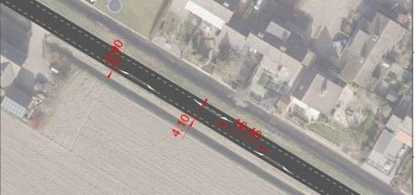 Verkeerseilandjes voor moeten lawaai en hard rijden minderen aan Noordlangeweg in Willemstad