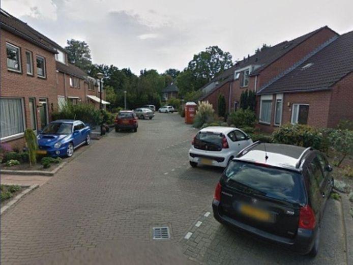 Een van de straten in woonwijk De Pas die wordt opgeknapt.