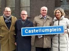 Castellumplein na 'nipte zege' naam nieuw plein in centrum De Meern