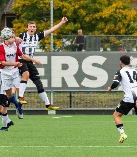 Dit zijn de uitslagen en doelpuntenmakers van het amateurvoetbal op de West-Veluwe