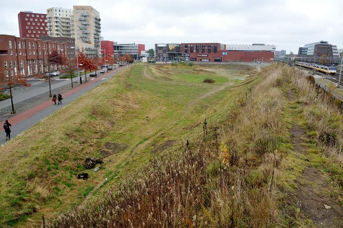Bij woningbouw op het Trapezium zal het parkeren grotendeels ondergronds opgelost moeten worden.