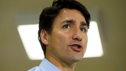 Premier Canada biedt excuses aan na opduiken foto waar hij met bruin geschminkt gezicht op staat