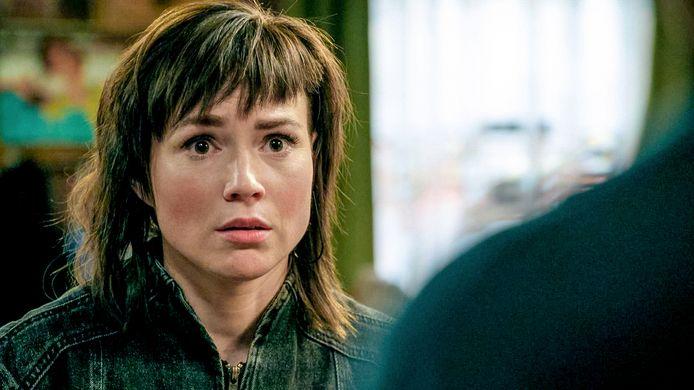 Erika Van Tielen speelt Amélie in 'Familie'.