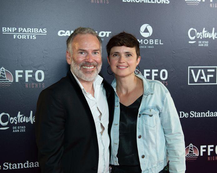 Steve Geerts en Marianne Devriese