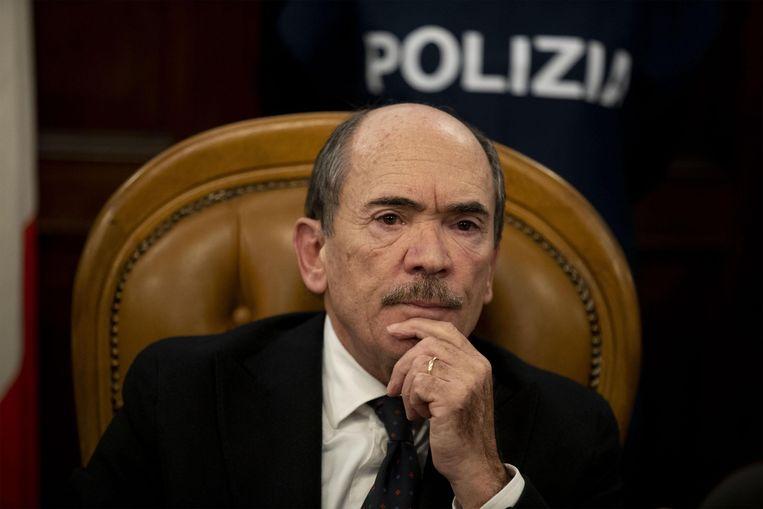 Antimaffia-aanklager Federico Cafiero de Raho. Beeld EPA