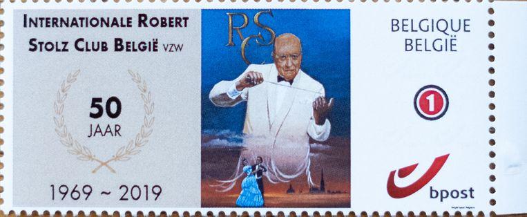 MECHELEN Internationale Robert Stolz Club België viert haar 50ste verjaardag met een postzegel.