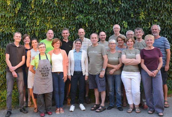 Het team van Natuurpunt Vlaamse Ardennen