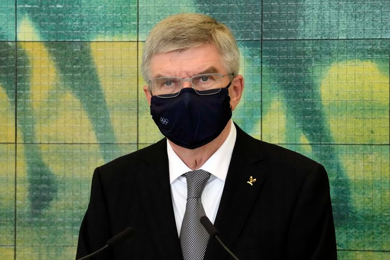 IOC-voorzitter Thomas Bach. Beeld REUTERS