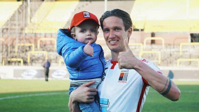"""Zoontje (2) van voetballer Glenn Claes aan de beterhand na transplantatie: """"Dankzij stukje lever van zijn mama is Lewis weer zijn vinnige zelve"""""""