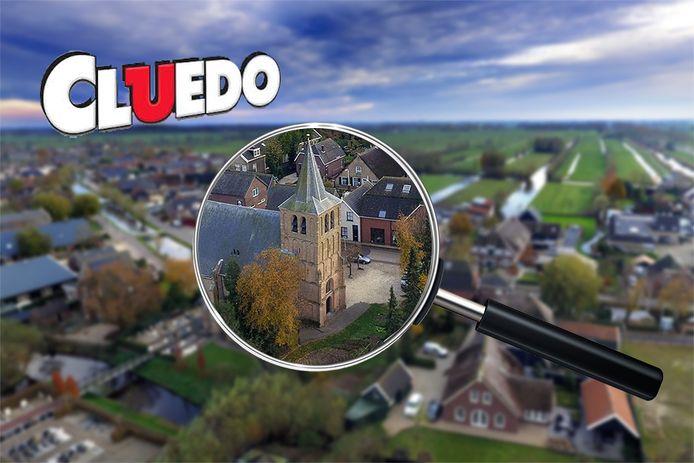 Wie ontrafelt de 'moordenaar' in Goudriaan? Speurneuzen kunnen vanaf maandag dagenlang meedoen aan een heus Cluedo-spel in het dorp.