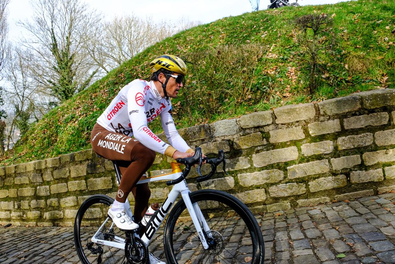 'Met wat geluk had ik drie keer de Ronde van Vlaanderen kunnen winnen. 'Ik win vandaag,' zei ik in 2016. Vijf minuten later lag ik op de grond' Beeld Yves Perret