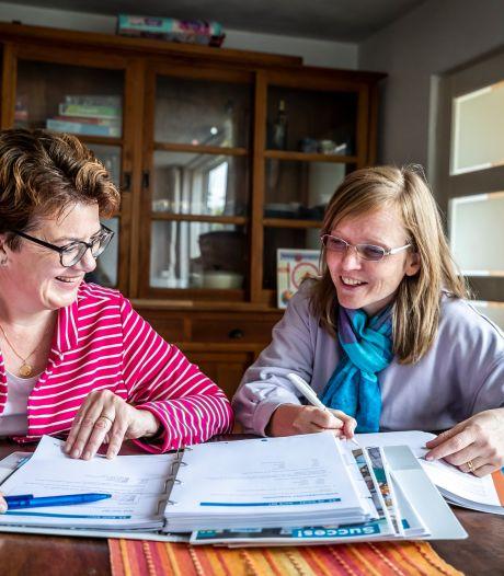 Dankzij taalcoach Ellen voelt Tilja zich niet meer verloren in Eindhoven