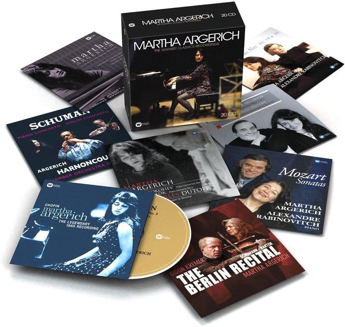 Martha Argerich: The Warner Classics Recordings.