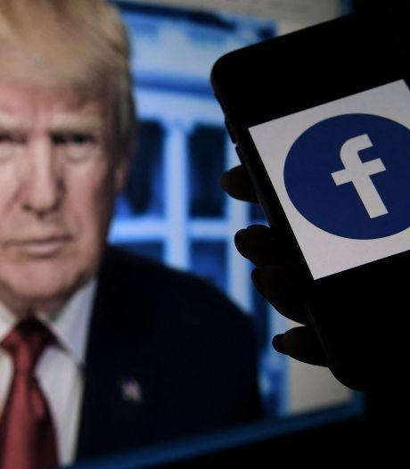 Facebook verbant Trump voor twee jaar
