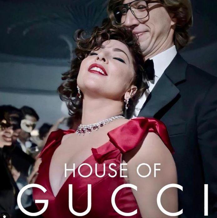 "Lady Gaga et Adam Driver dans ""House of Gucci"""