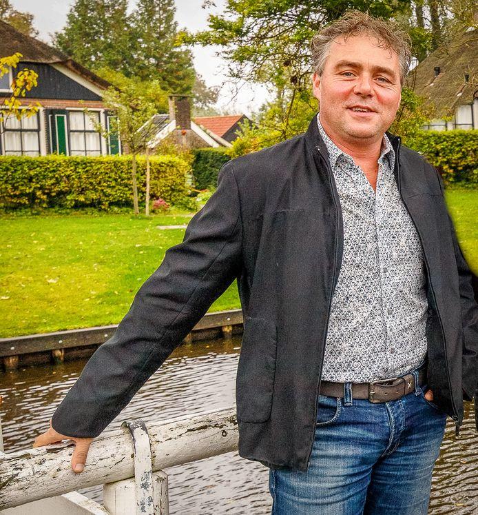 Evert van Dijk, voorzitter 't  Gieters Belang.