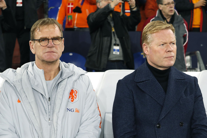 Dwight Lodeweges en Ronald Koeman.