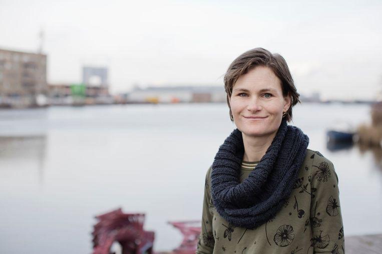 Initiatiefneemster Marjolein Smeele, project Schoonschip Beeld Triodos