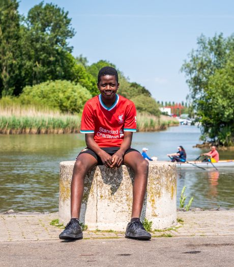 Exaucé (12) wil later militair worden: 'Je kunt mensen helpen en beschermen, dat vind ik belangrijk'