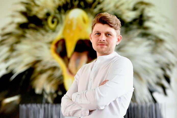 Daniel Ebbert, de hoofd scouting van Vitesse