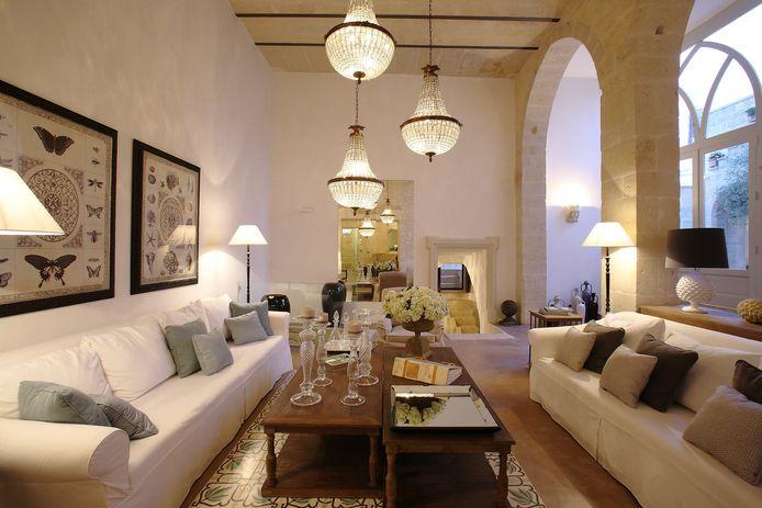 Een gerestaureerde palazzo in Puglia