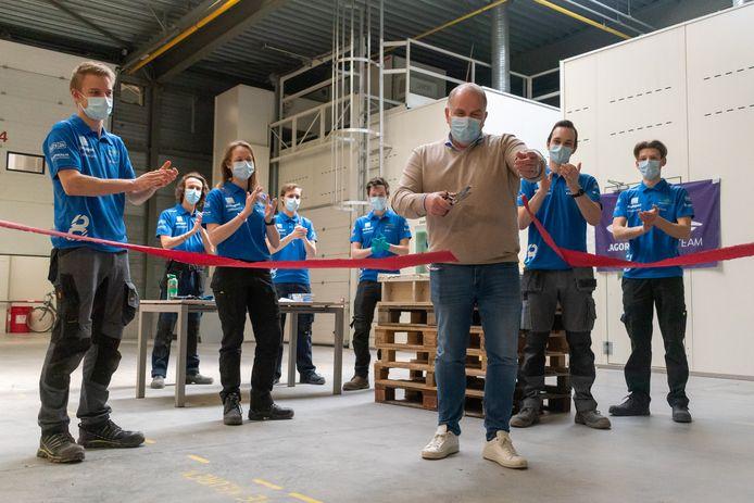 Solar Agoria Team van de KU Leuven werkt aan nieuwe zonnewagen