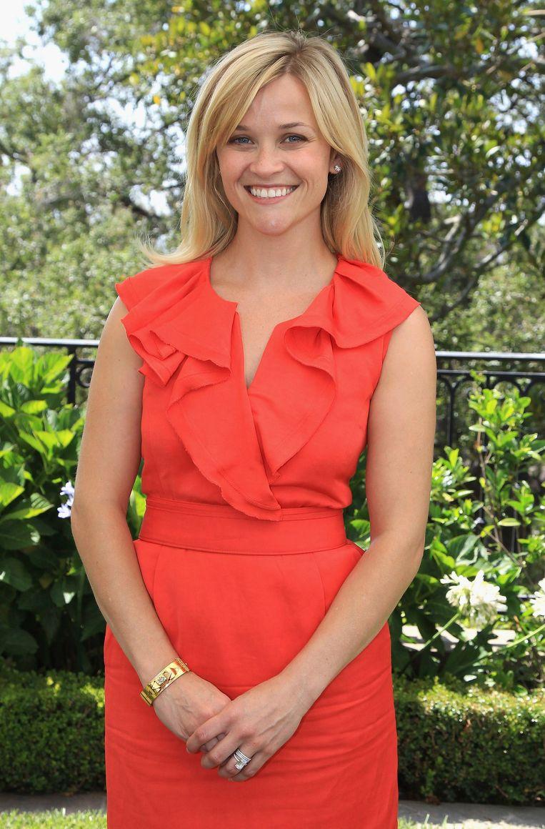Reese Witherspoon was minder in trek op de cover. Beeld reuters