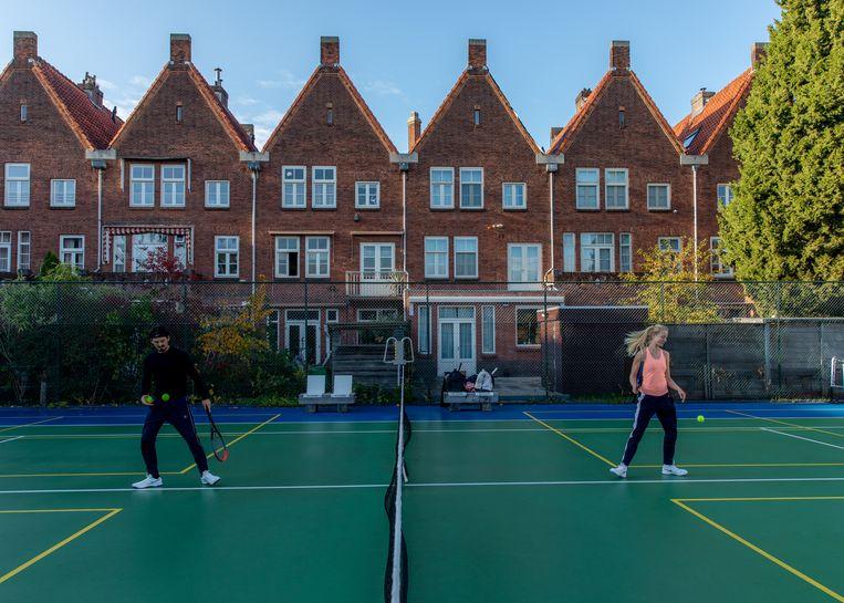 Tennispark Linnaeushof Beeld Lin Woldendorp