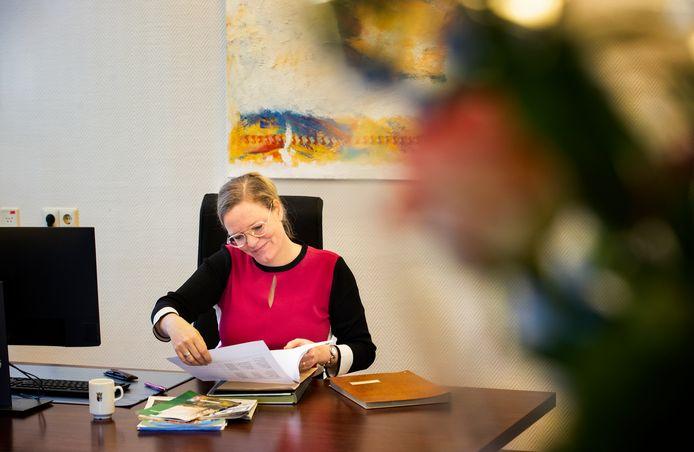 Asten ED2021 8337 Eerste dag burgemeester *Anke Van Extel-Van Katwijk*