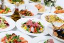 Pasta, sushi of mosselen: in een wereldrestaurant vindt iedereen wel iets naar zijn keuze.