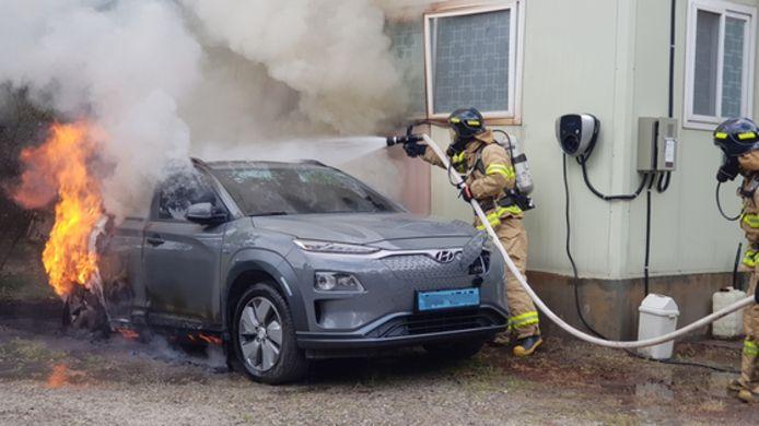 Ook de Hyundai Kona wordt binnenkort waarschijnlijk teruggeroepen.