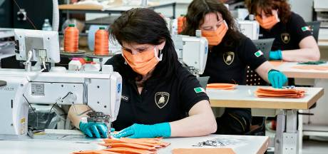 Zelfs Lamborghini schakelt over op de productie van mondmaskers