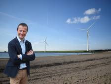 Vertraging voor twee nieuwe windmolens bij de Haringvlietdam in Hellevoetsluis