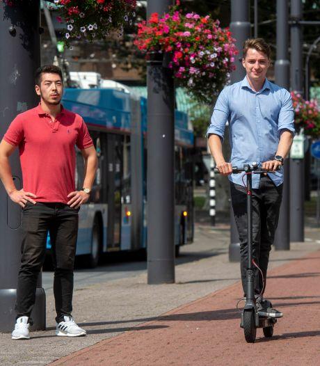 Arnhem loopt warm voor proef met elektrische deelsteps op industriepark