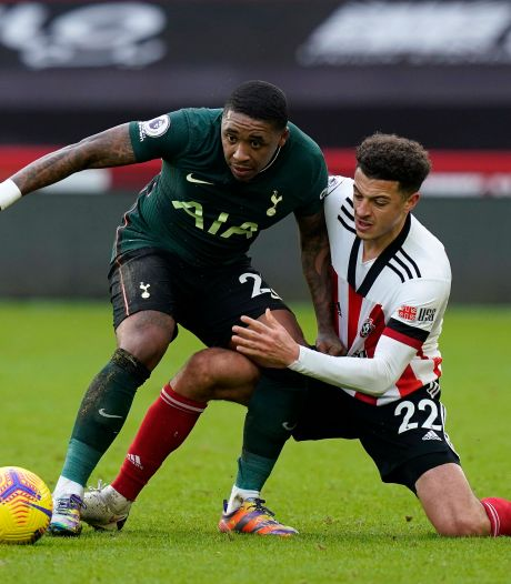Bergwijn helpt Spurs met assist langs Sheffield